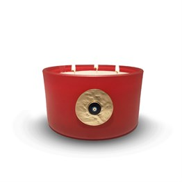 Evil Eye Scended Candle Coral 502-S