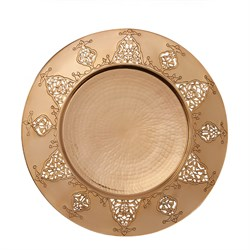 Ornament Plate GOLD858