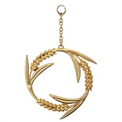 Cycle Wall Hanging Gold480