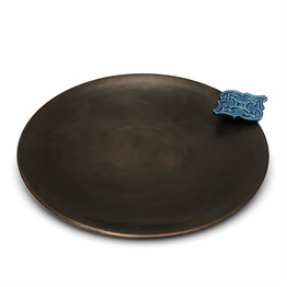 Copper Centerpiece Shield with Tile 429