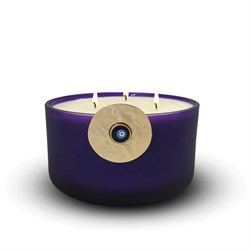 Evil Eye Scented Candle Purple 502-S