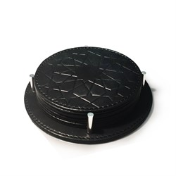 Seljuk Leather Coaster 705